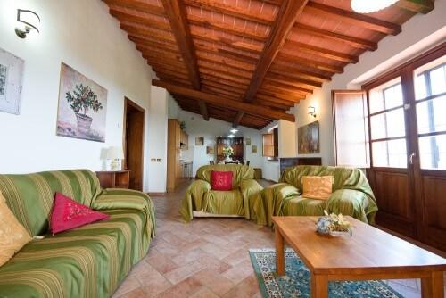 Villa Perugina, appartement Papavero