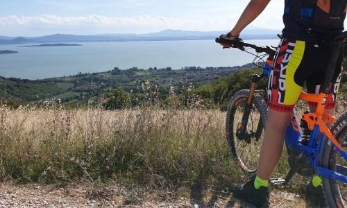 Mountainbike Italie