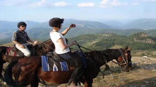 Paardrijden in Umbrie