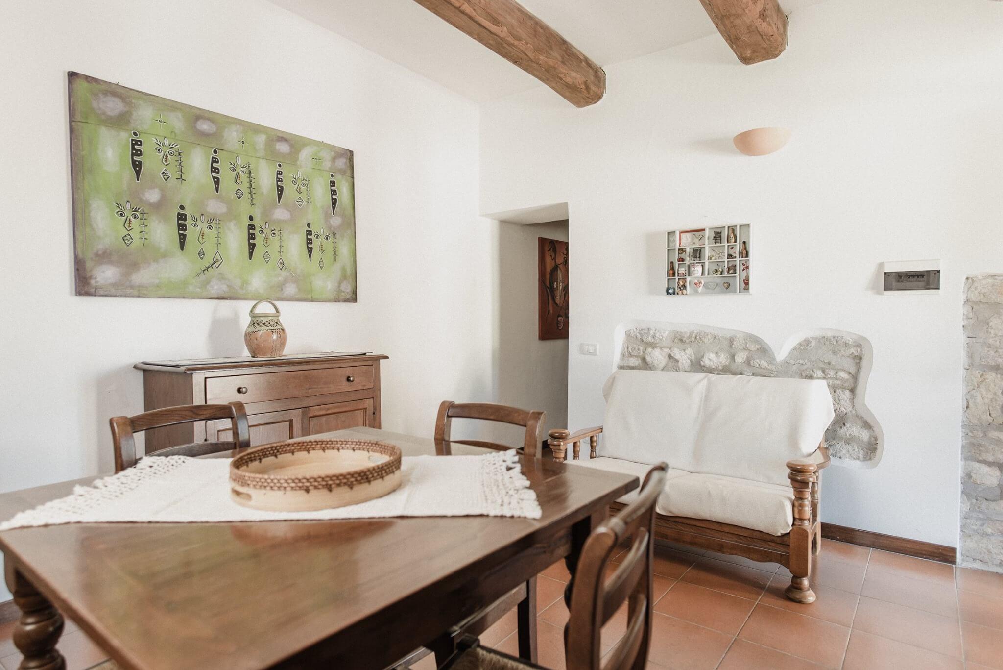 Casali del Toppello, appartement Leccino
